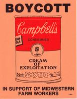 Boycott Campbell Soup in Support of MidWestern Farmworkers