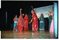 Bhangra Giddha dancers at Canadian Farmworkers Union's 3rd Anniversary Celebration.