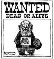 Wanted Dead or Alive Spare Change Please